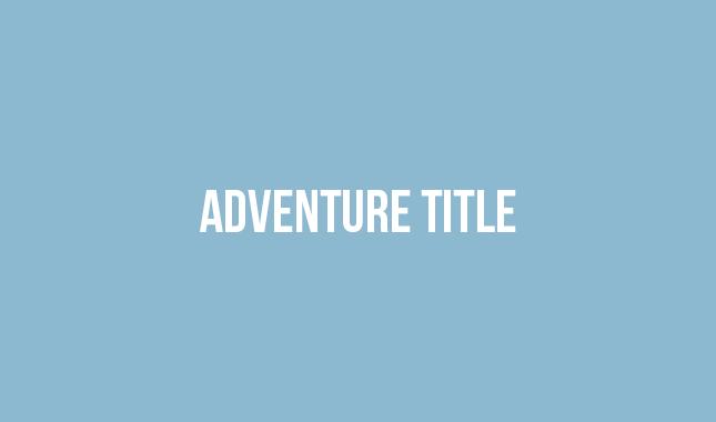 Adventure Title Thumbnail