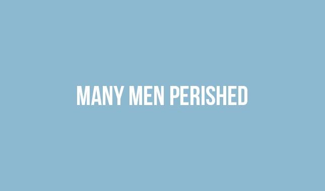 Many Men Perished Thumbnail
